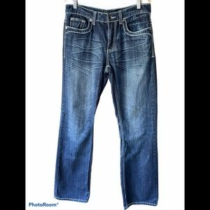 Helix Men's Relaxed Boot Jeans Sz 32W 34L